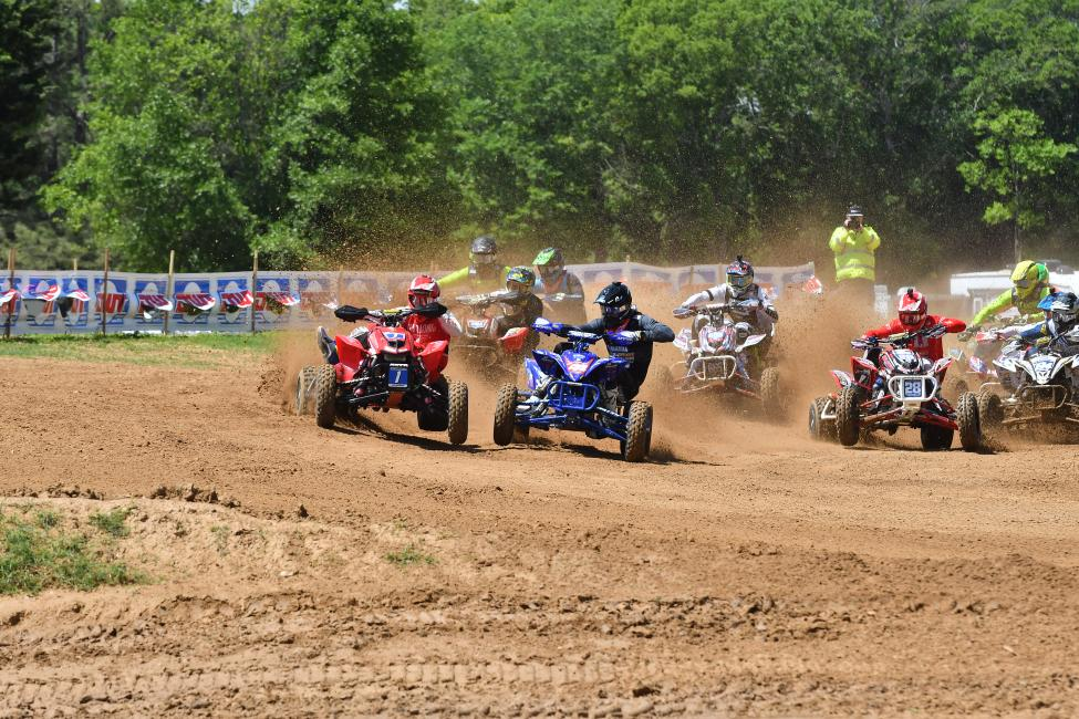 The AMA Pro ATVs take the track at Ironman Raceway on Saturday, May 5.