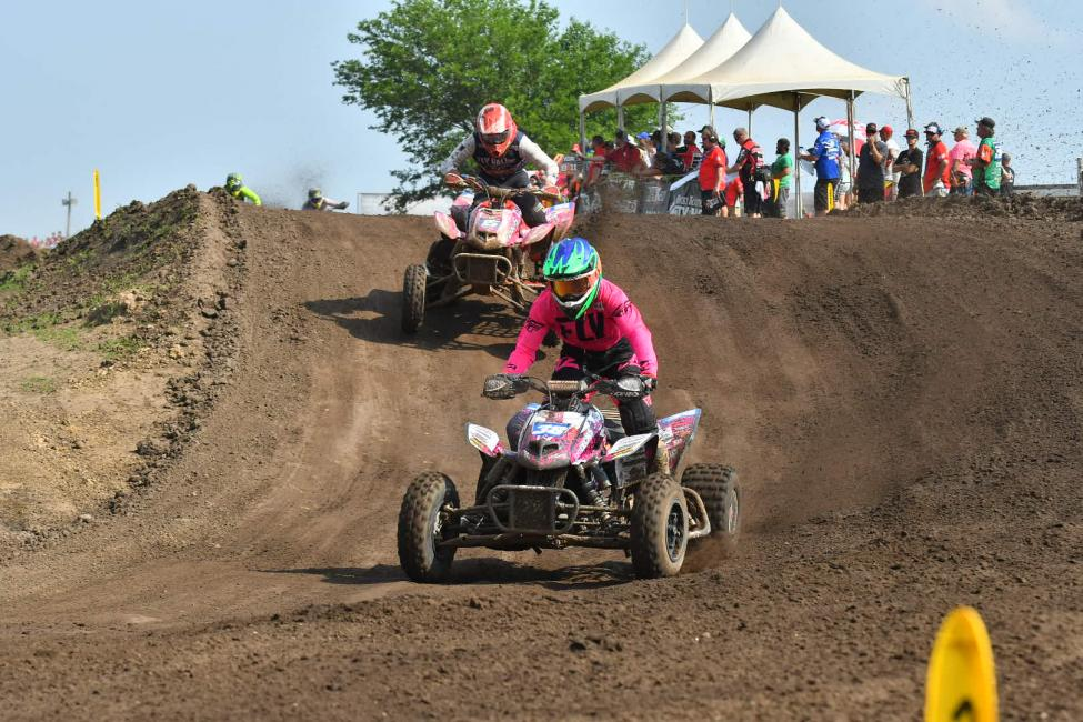 Sam Rowe and Nick Gennusa both put it good rides at the ATVMX National in Illinois.