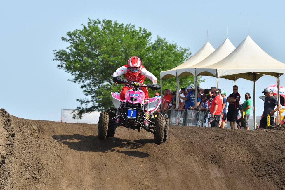 Joel Hetrick will be sporting the red number plate at Unadilla after taking the points lead in Illinois.