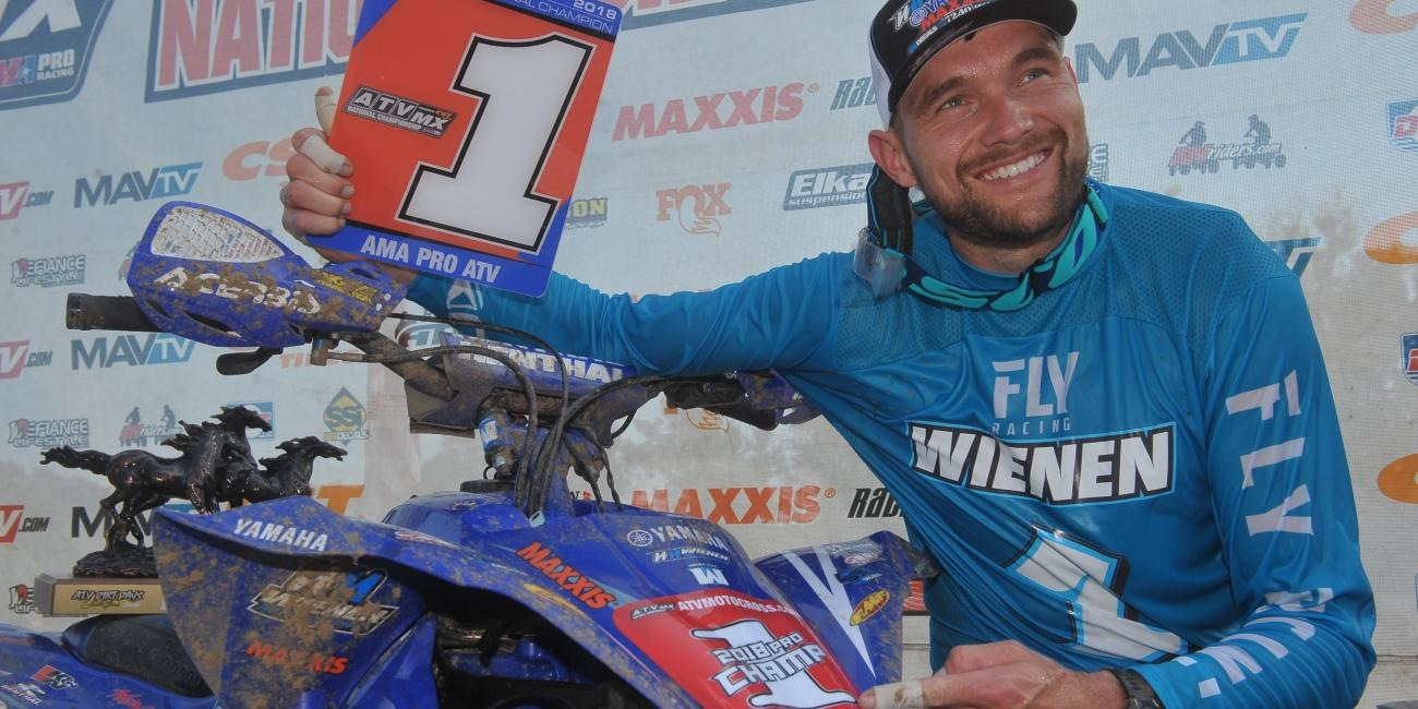 Chad Wienen Earns Sixth ATV Motocross National Championship