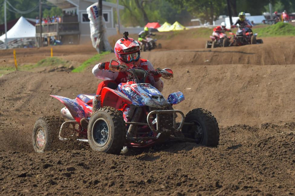 Nick Gennusa put in a great ride at Loretta Lynn's, finishing fourth overall.