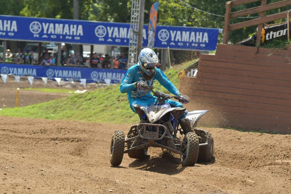 Chad Wienen battled throughout the entire season to earn the AMA Pro ATV Motocross National Championship.