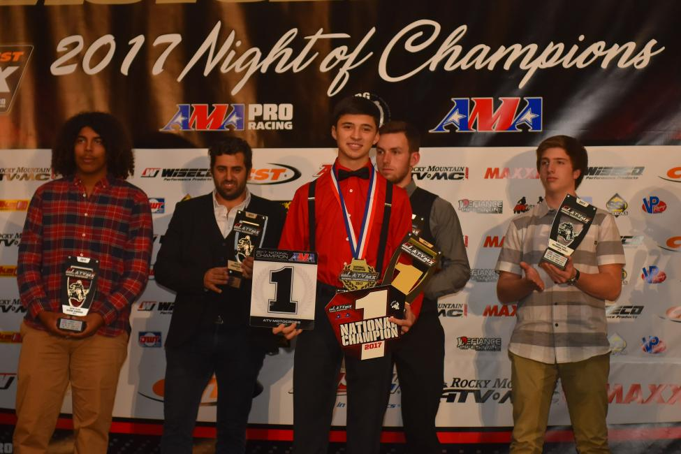 Join the ATV Racin' Nation in celebrating on November 17th in Morgantown, West Virginia.