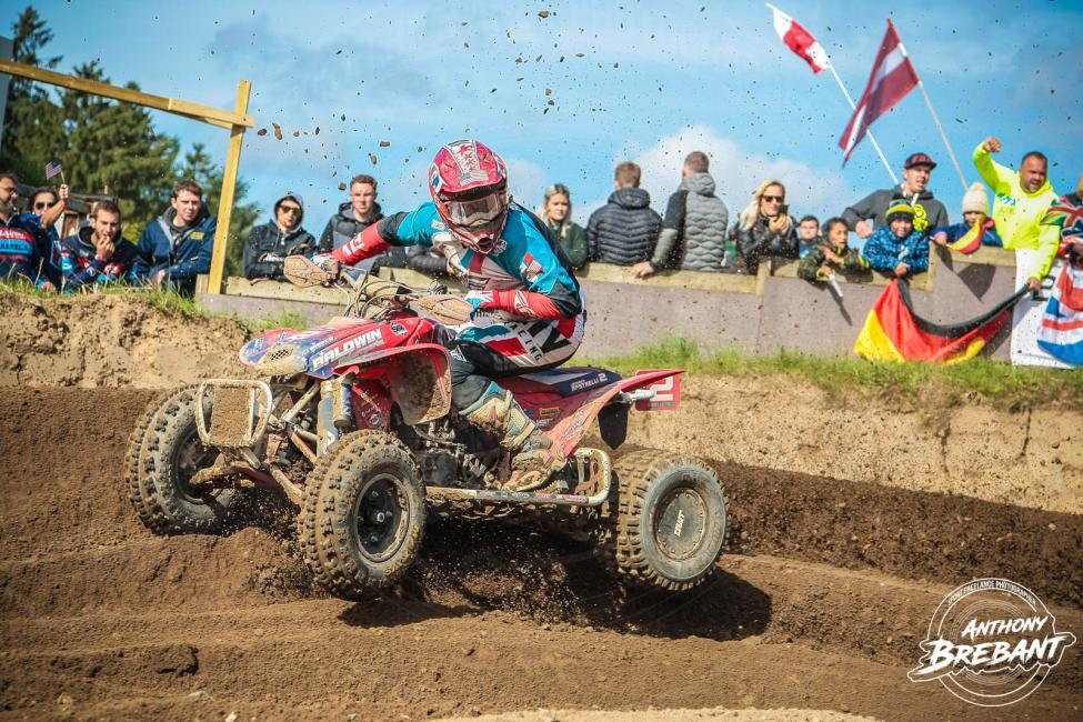 Jeffrey Rastrelli came through in second in the first and second motos in Denmark.