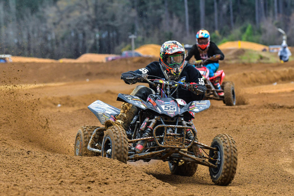 Logan Stanfield clinched the 2018 Open Pro Sport and 450 A Class Championships.