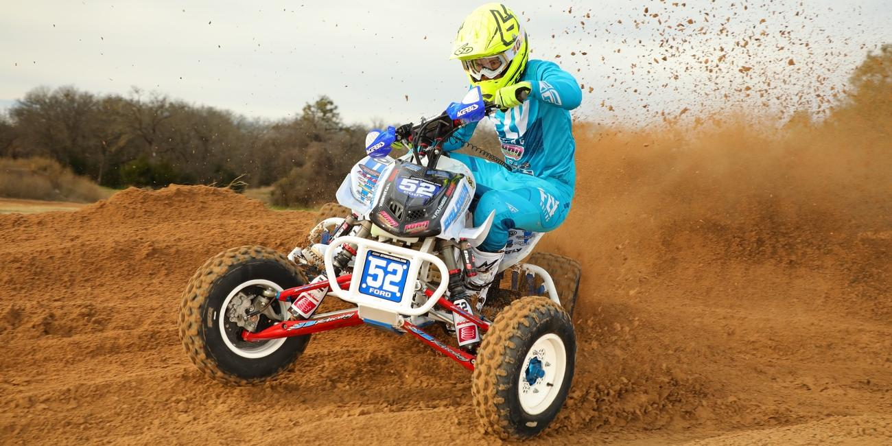 Cody Ford's Pro Debut at the 2019 Daytona ATV Motocross Event Ford Brothers Racing Preseason Press Release