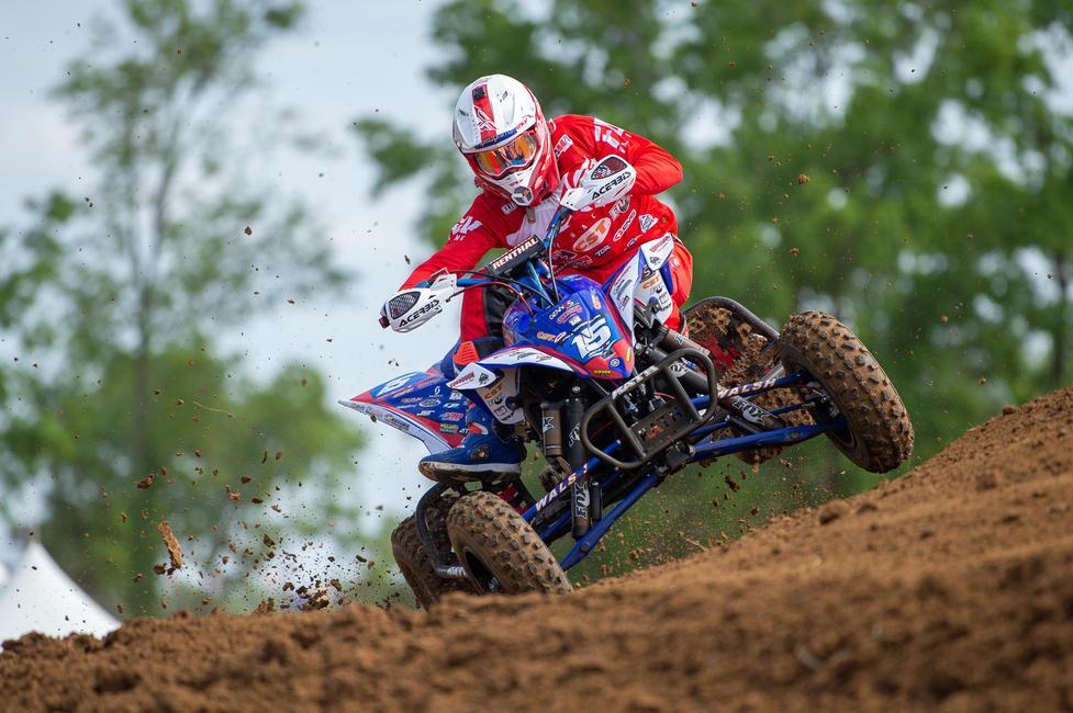 Nicholas Gennusa finished fifth overall at SOBMX, after finishing fifth in each moto.