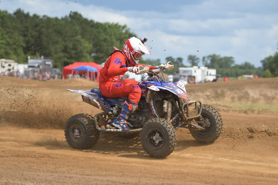 Nicholas Gennusa is eager to battle for his first overall podium finish this weekend at Muddy Creek Raceway.