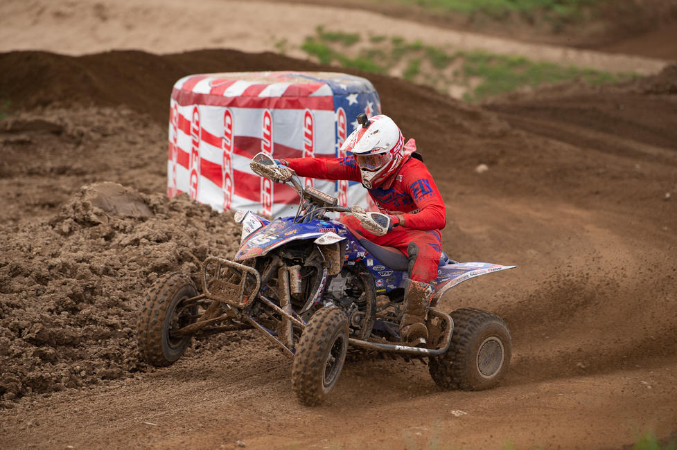 Nick Gennusa captured his first-ever career overall ATVMX podium finish with third overall in Michigan.