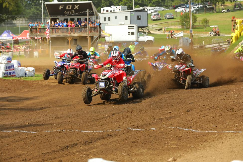 Hetrick grabbed both SSi Decals Holeshot Awards at Loretta Lynn Ranch over the weekend.