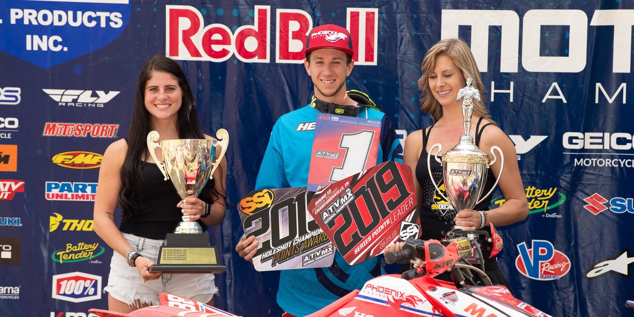 Joel Hetrick Clinches 2019 ATV Motocross National Championship