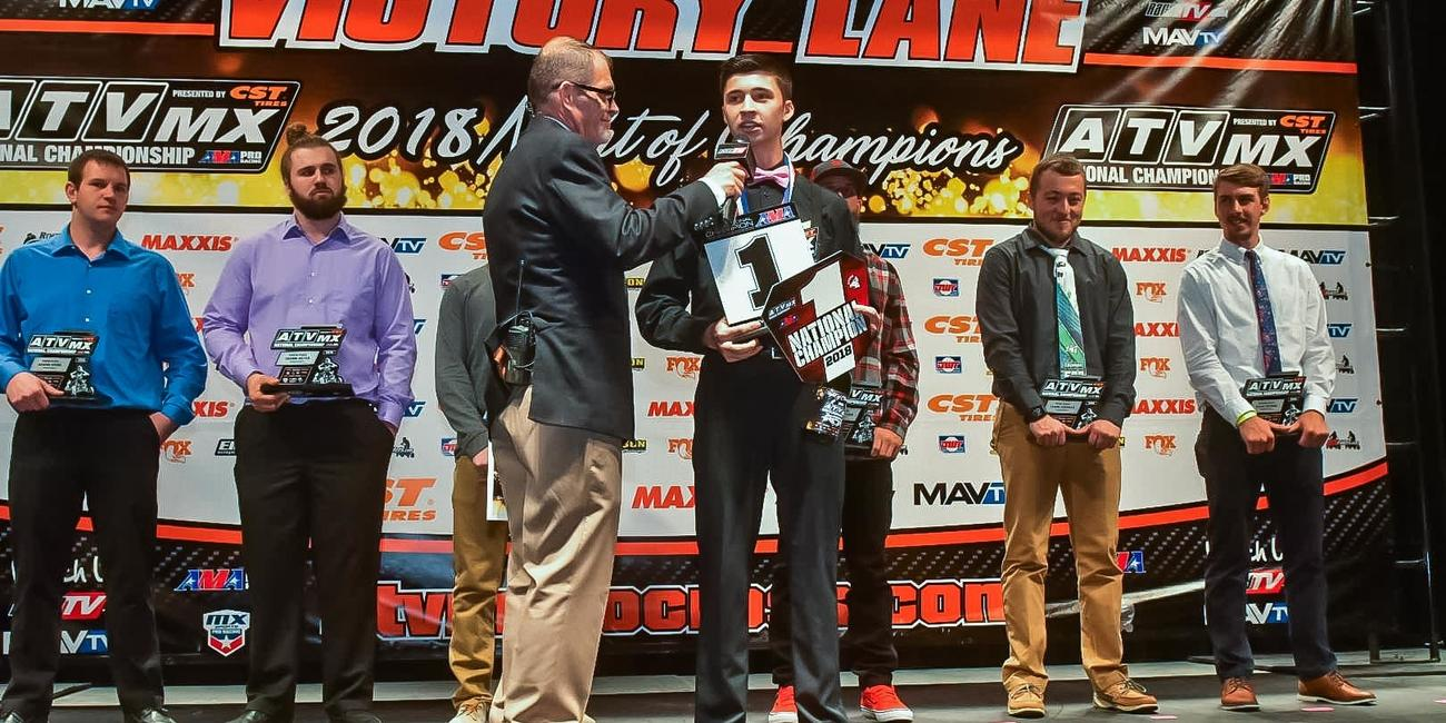 ATV Motocross National Championship Announces 2019 Awards Banquet