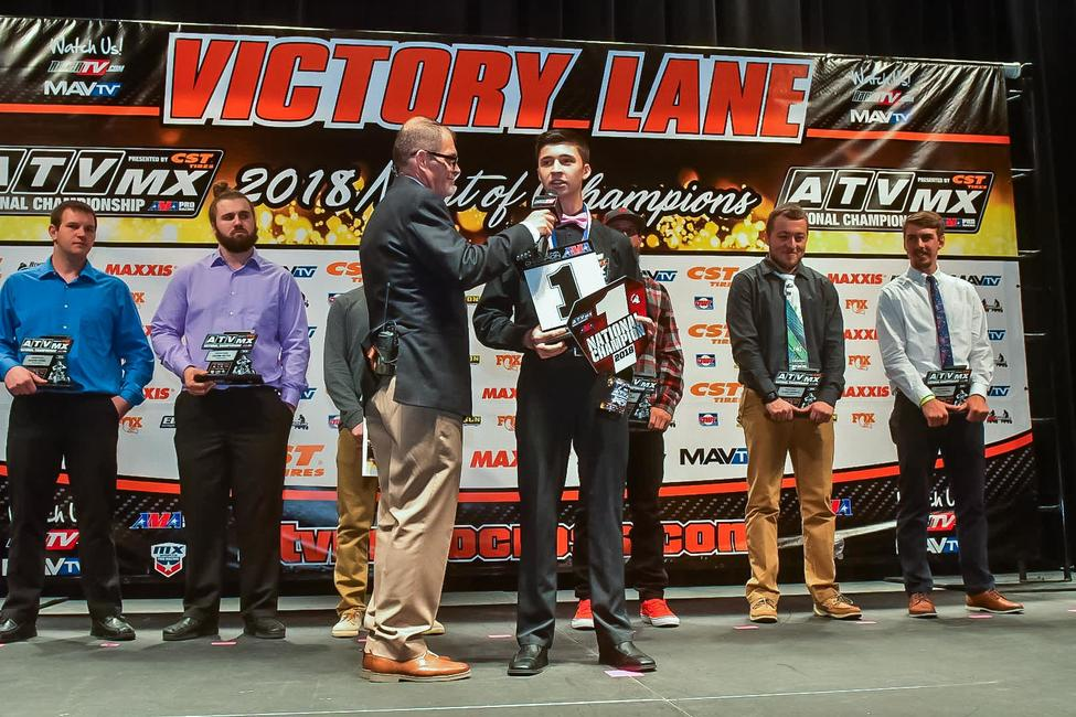 ATVMX Champions will be crowned Saturday evening at the 2019 Awards Celebration.