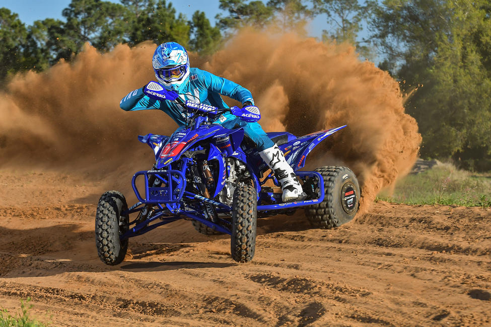 Chad Wienen Wienen continues to make history as he chases his seventh ATV MX championship, the $10,000 bLU cRU racing bonus, as well as defend the title in the second year of the Production Stock Premier class.