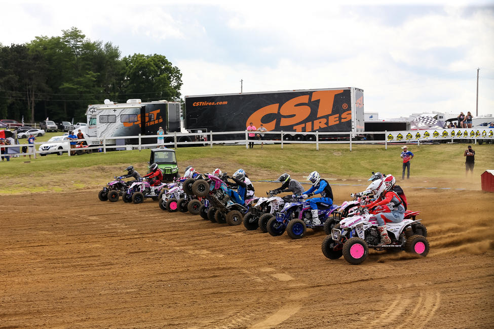 ATVMX Racing will continue with racing  July 3-5 at Pleasure Valley Raceway in Pennsylvania. PC: Ph3 Photos