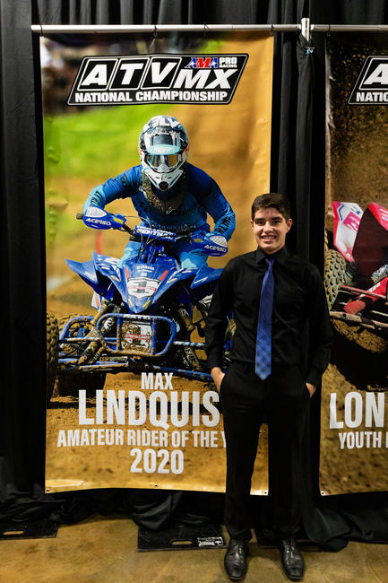 Max Lindquist earned the 2020 Amateur Rider of the Year Award. Photo: P3 Photos