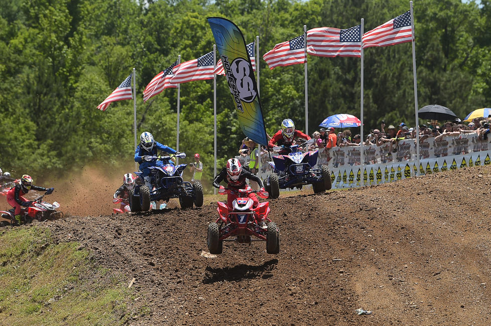 ATV Motocross will donate 50 tickets to Vet Tix for each stop on the 2021 schedule, totaling in over 400 across 9 rounds of the series. Photo: Ken Hill